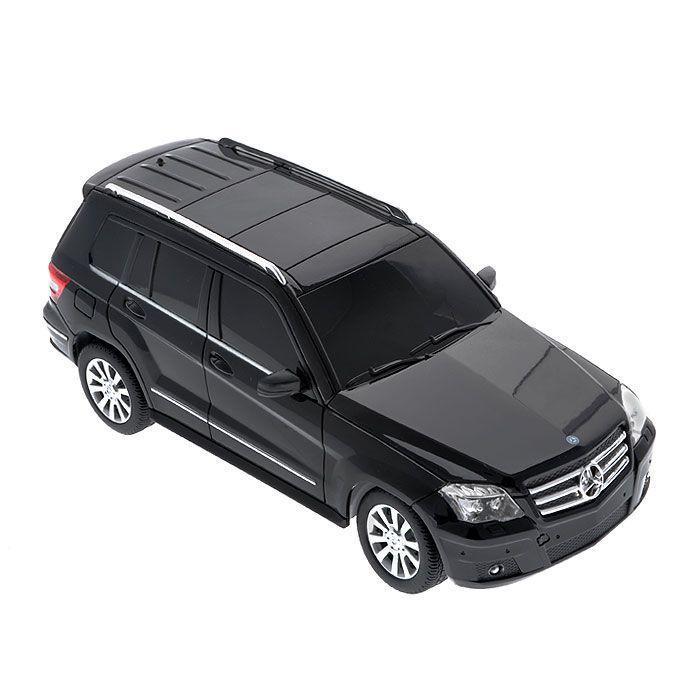 Rastar Радиоуправляемая модель Mercedes GLK цвет черный rastar машина мателл 1 43 mercedes glk