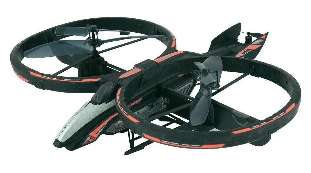 Silverlit Аватар 84519 - это находка для всех поклонников блокбастера «Аватар». Вертолет представляет собой легкий закрытый летательный аппарат с уникальной системой винта для стабильного подъема. Высокоточная система управления, гироскоп для стабильного подъема, контроль скорости, яркие светодиодные огни - главные преимущества данной модели необычной формы. Различные направления движения: вверх-вниз, вперед-назад, вправо-влево, свободное парение и продолжительность полета до пяти минут, развлекут ребенка во время игр в закрытых просторных помещениях или на улице в безветренную погоду. Трехканальный пульт дистанционного управления имеет кнопку «Оn/off», переключатель канала, рычаги управления и газа, триммер выравнивания воздушной машины, колесо регулировки, индикаторы зарядки и питания.