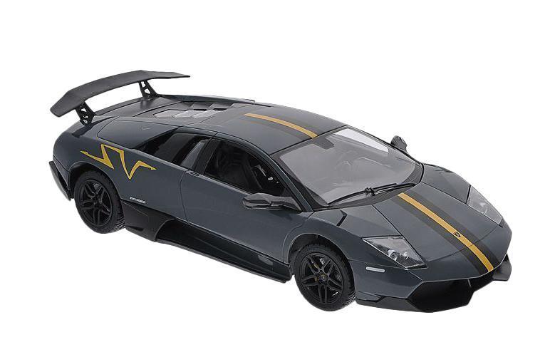 Радиоуправляемая машинка Lamborghini Murcielago LP670-4 от Rastar в точности повторяет настоящий автомобиль в пропорциях 1:14. Полнофункциональная радиоуправляемая модель. Пульт радиоуправления на частоте 27 MHz. Включающиеся передние и задние фары. Дальность управления 25 метров. Развиваемая скорость 7 км/час. В ассортименте цвета: оранжевый, желтый. Питание: 3x1.5AA, в пульт 2x1.5AA. Комплект требует: 2хАА для пульта, 3хАА для питания модели.