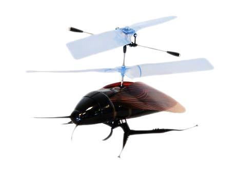 """Кукарача"""" - маленький вертолет. Управляется модель достаточно легко и интересно. Вертолет """"Кукарача"""" может летать где угодно. Такой вертолет - отличное приобретение для каждого так, как у него минимальный вес, максимальная устойчивость, минимальная скорость полета, простота управления, крошечный размер. Модель оснащена пенопластовым корпусом и гибкими нейлоновыми лопастями. Модель управляется с пульта управления по двум каналам: левая ручка передатчика регулирует высоту полета, правая ручка передатчика отвечает за изменение направления полета по курсу. Вертолет заряжается от передатчика через специальный шнур, поэтому его можно брать с собой куда угодно. Вертолет """"Кукарача"""" понравится Вам и Вашим детям!"""