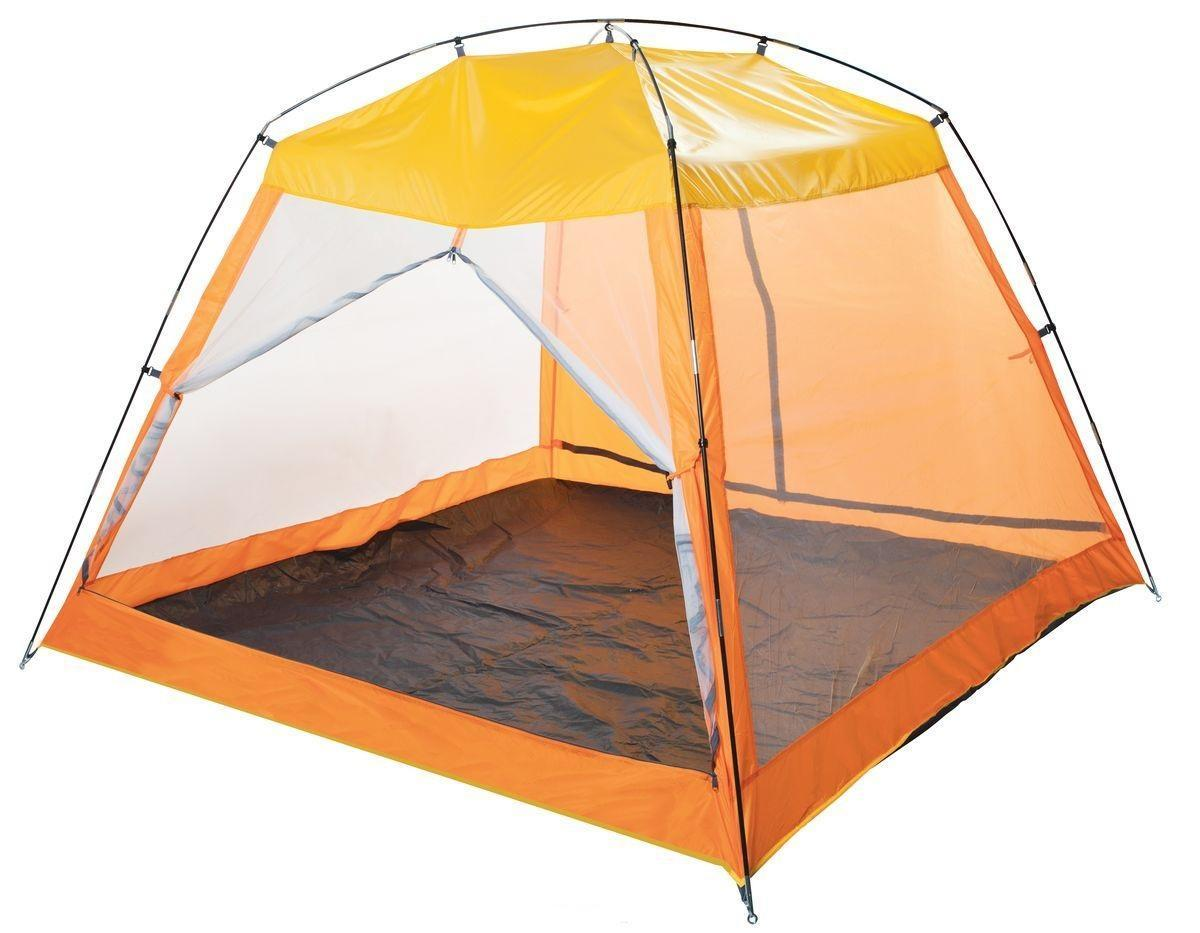 Тент пляжный TREK PLANET Malibu Beach, цвет: желтый/оранжевый, 210х210х150 - Палатки и тенты