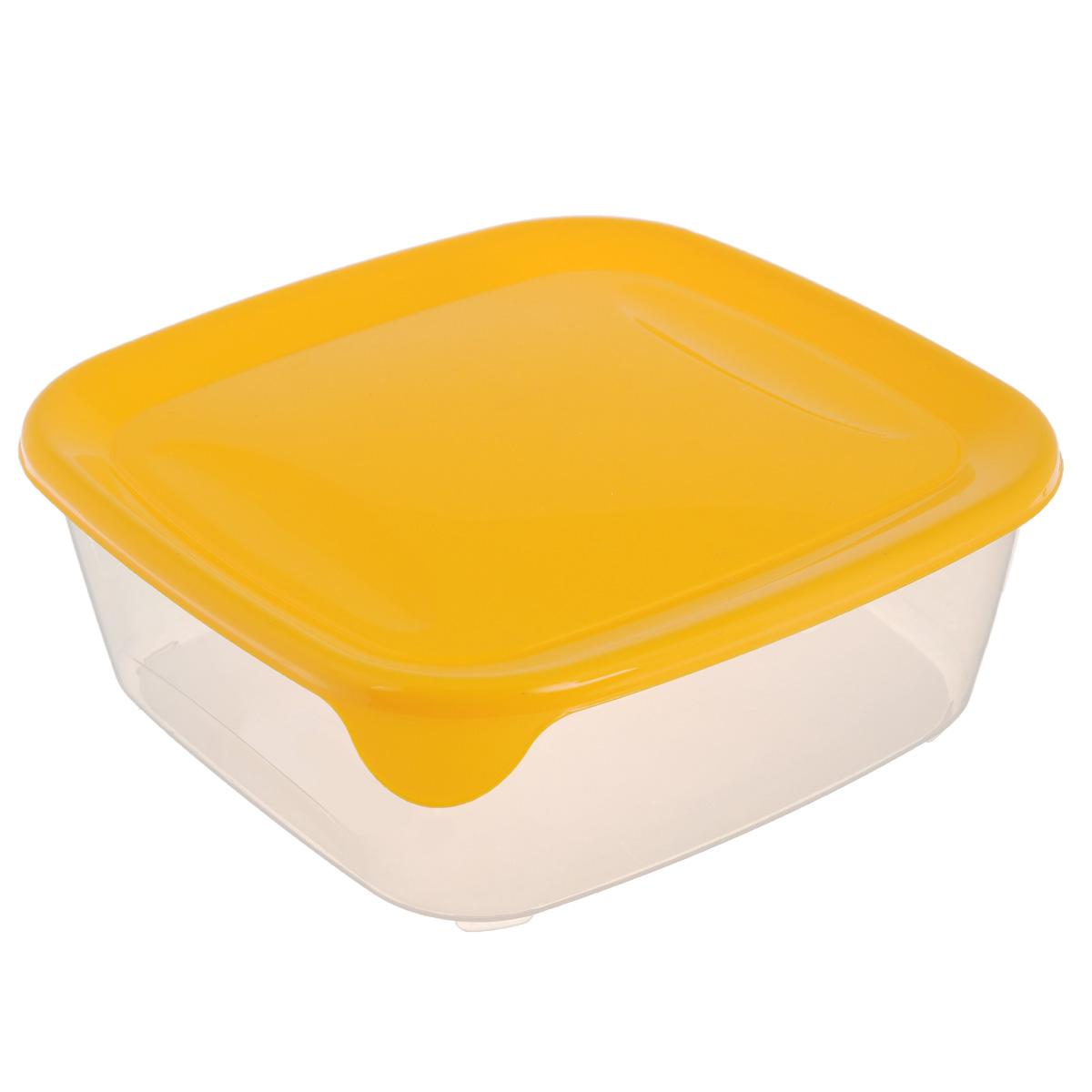 Емкость для заморозки и СВЧ Curver Fresh & Go, цвет: желтый, 2,9 лSC-FD421005Квадратная емкость для заморозки и СВЧ Curver Fresh & Go изготовлена из высококачественного пищевого пластика (BPA free), который выдерживает температуру от -40°С до +100°С. Стенки емкости прозрачные, а крышка цветная. Она плотно закрывается, дольше сохраняя продукты свежими и вкусными. Емкость удобно брать с собой на работу, учебу, пикник или просто использовать для хранения пищи в холодильнике. Можно использовать в микроволновой печи и для заморозки в морозильной камере. Можно мыть в посудомоечной машине.