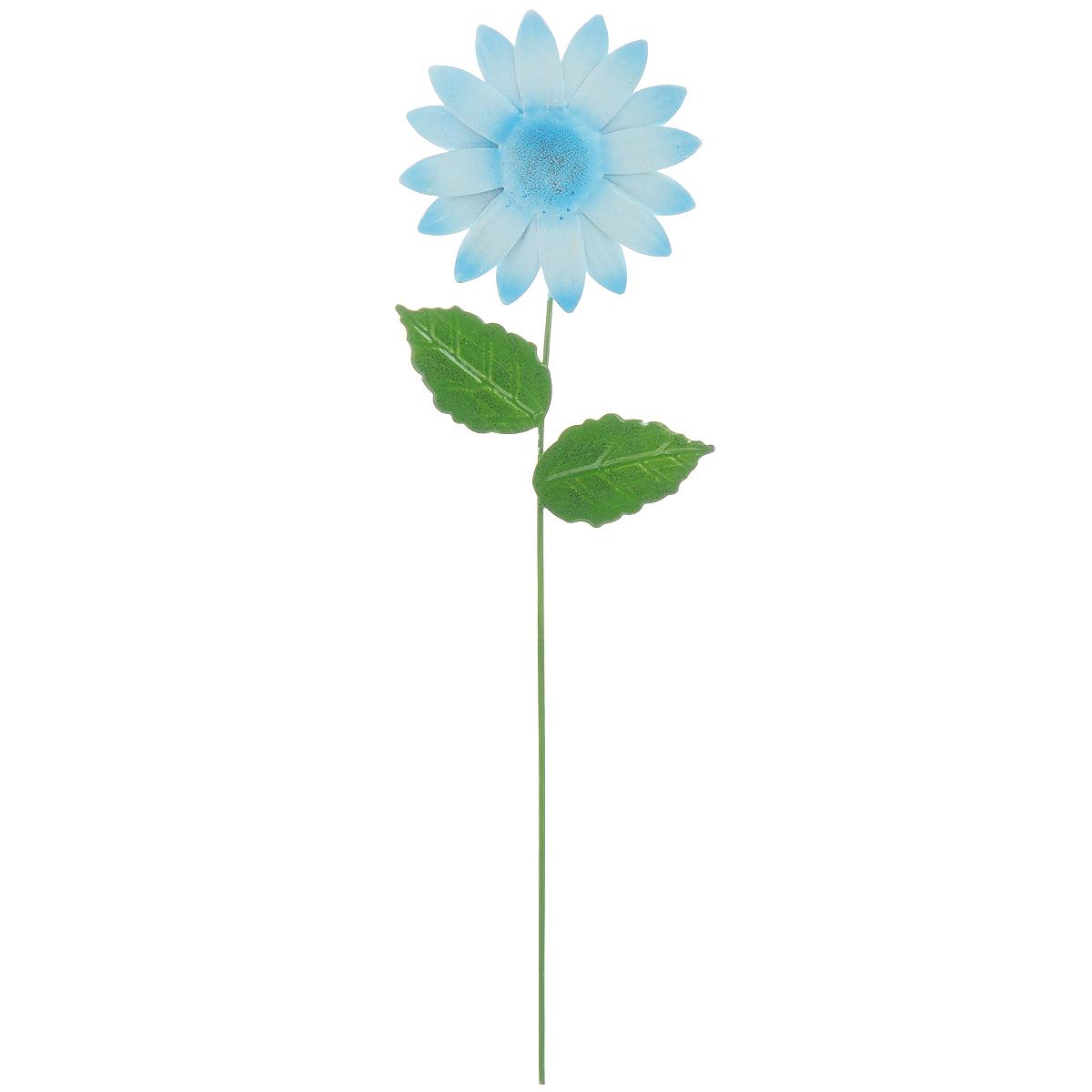 Украшение на ножке Village People Астры, цвет: голубой, высота 28,5 смBH-SI0439-WWУкрашение на ножке Village People Астры предназначено для декорирования садового участка, грядок, клумб, цветочных кашпо, а также для поддержки и правильного роста растений. Изделие в ярком симпатичном дизайне выполнено из прочного и надежного металла, легко устанавливается в землю. Оно украсит ваш сад и добавит ярких красок.