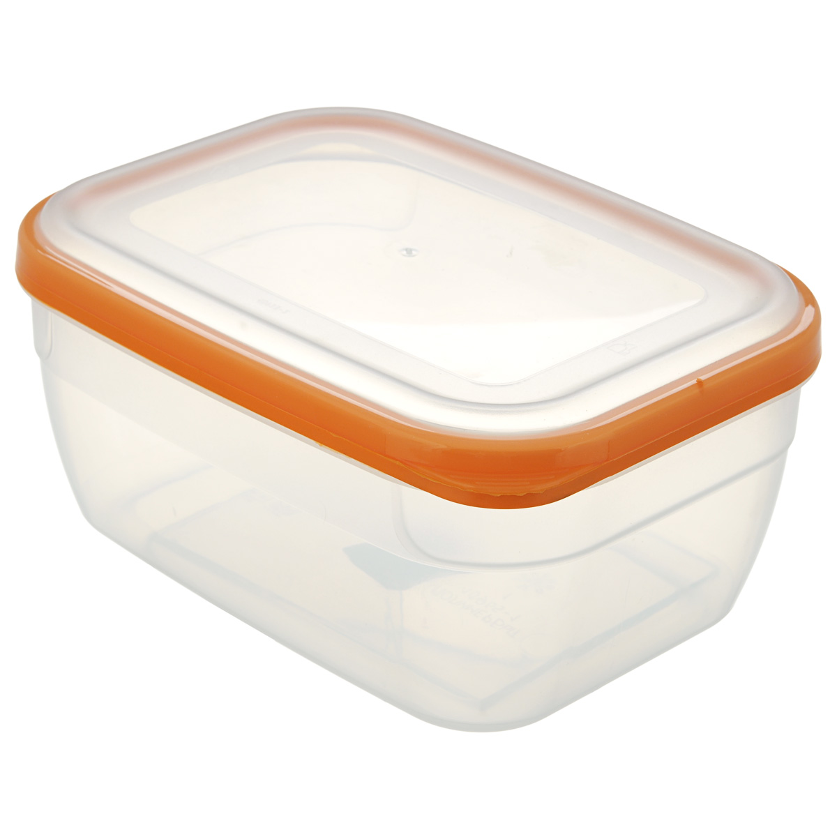 Контейнер для СВЧ Премиум, цвет: оранжевый, 1,8 л310540Пищевой контейнер предназначен специально для хранения пищевых продуктов. Крышка легко открывается и плотно закрывается. Устойчив к воздействию масел и жиров, легко моется. Прозрачные стенки позволяют видеть содержимое. Емкость имеет возможность хранения продуктов глубокой заморозки, обладает высокой прочностью. Контейнер необыкновенно удобен: в нем можно брать еду на работу, за город, ребенку в школу. Именно поэтому подобные контейнеры обретают все большую популярность.Размер: 20 см х 14,5 см х 9 см.