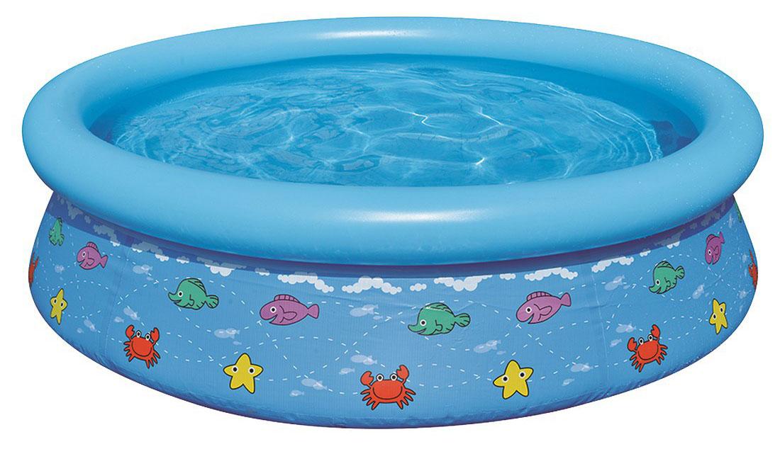 Бассейн надувной Jilong Kids Pool, цвет: голубой, 150 см х 38 смJL017231NPF(н)Круглый надувной бассейн Jilong Kids Pool предназначен для детского и семейного отдыха на загородном участке. Отлично подойдет для детей от 3 лет. Бассейн изготовлен из прочного трехслойного ПВХ.Комфортный дизайн бассейна и приятная цветовая гамма сделают его не только незаменимым атрибутом летнего отдыха, но и оригинальным дополнением ландшафтного дизайна участка. В комплект с бассейном входит заплатка для ремонта в случае прокола.