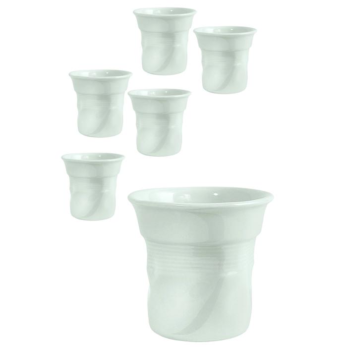 Кофейные чашки Bialetti Set Bicchierini White 6 шт.VT-1520(SR)Кофейные чашки Bialetti Set Bicchierini White 6 шт.