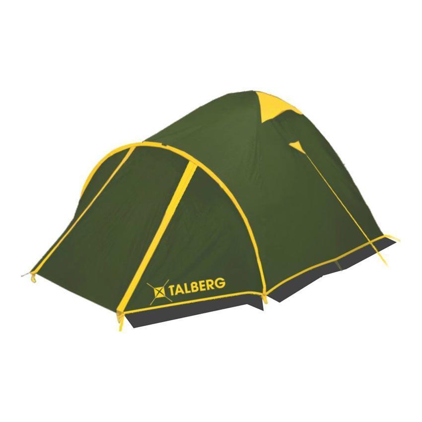 Палатка Talberg MALM PRO 2, цвет: зеленыйУТ-000058591Палатка Talberg Malm Pro 2, превосходная двухместная модель, пригодная для всех видов туризма, в том числе горного. Палатка снабжена тамбуром увеличенного размера, который поддерживается отдельной дугой. Также имеется второй вход, позволяющий удобно попадать в палатку, если в большом тамбуре сложено снаряжение. Палатка Talberg Malm Pro 2 снабжена также защитной юбкой, что обеспечивает комфорт даже в условиях неблагоприятной погоды - сильного ветра, дождя, снега. Каркас палатки Talberg Malm Pro 2 изготовлен из магний-алюминиевого сплава Alu 7001-T6, очень легкого, прочного и не имеющего остаточных деформаций. Эта модель хорошо сбалансирована по сочетанию цены и свойств. Высококачественные материалы, хорошая ветроустойчивость, легко и без усилий устанавливается даже одним человеком, эффективная система вентиляции с москитными сетками позволяет в достаточной мере проветривать палатку. Все швы проклеены термоусадочной лентой, в спальном отделении предусмотрены карманы для мелочей. Палатка Talberg Malm Pro 2 - очень удачный вариант для туризма или отдыха на природе. Состав материала: полиэстер, алюминий