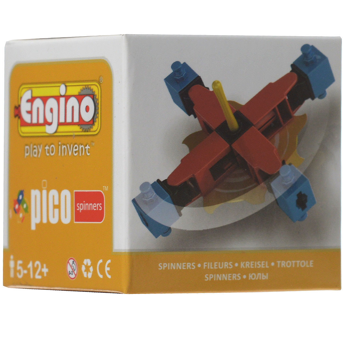 Engino Конструктор Spinners PS02 engino конструктор inventor приключения 170 элементов