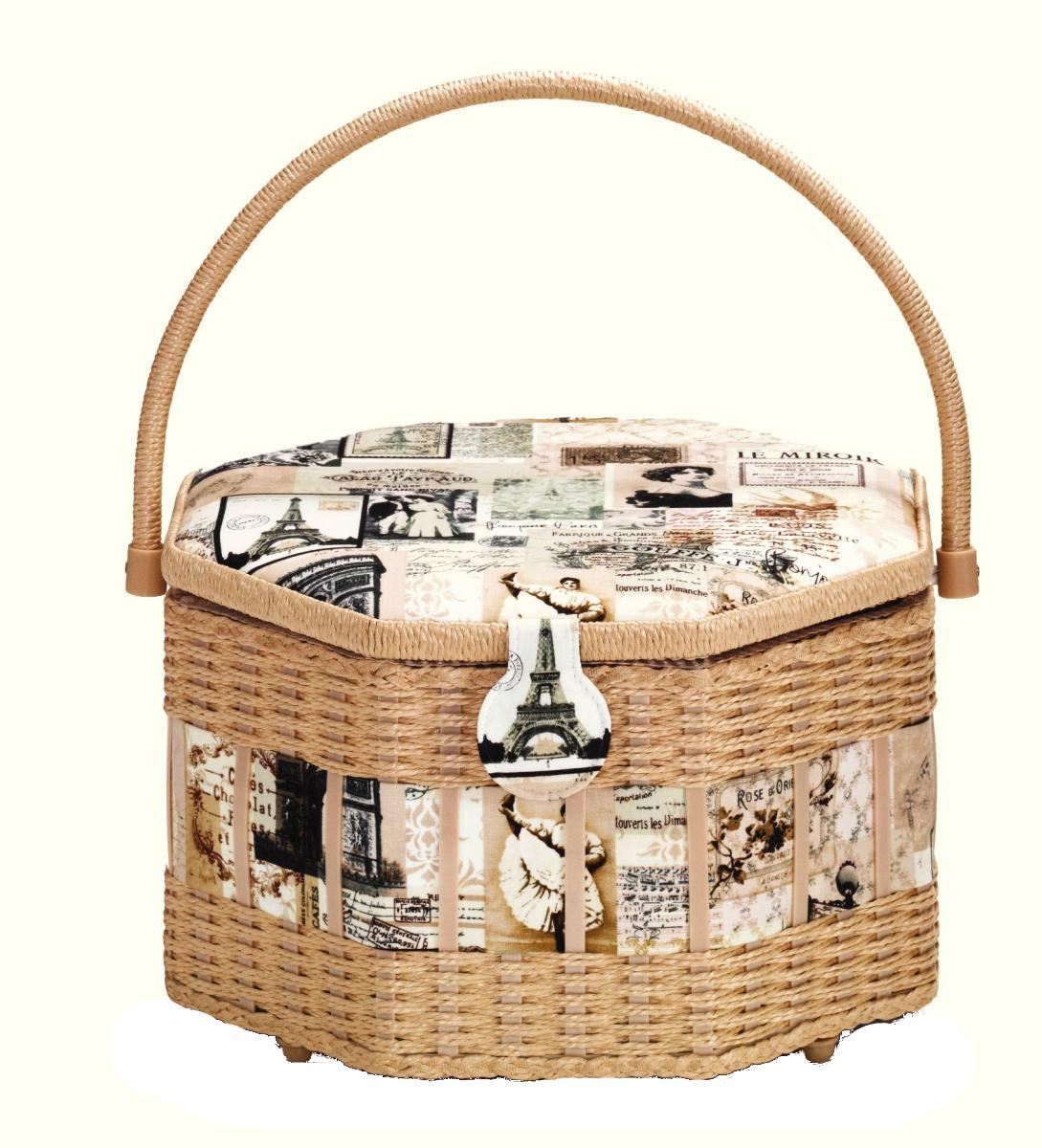 Шкатулка для рукоделия Vintage, 30,5 см х 30,5 см х 19 см529Шкатулка для рукоделия Vintage , станет чудесным подарком для рукодельницы. Порадуйте женщин незаменимой шкатулкой Vintage от производителя Prym.