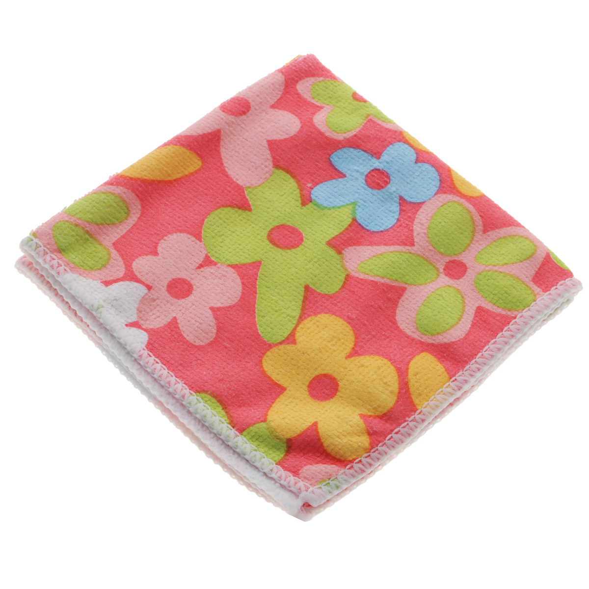Салфетка для уборки Youll Love Цветы, цвет: розовый, 30 см х 30 смES-414Салфетка Youll Love Цветы, изготовленная из 20% полиамида и 80% полиэфира, предназначена для очищения загрязнений на любых поверхностях. Изделие обладает высокой износоустойчивостью и рассчитано на многократное использование, легко моется в теплой воде с мягкими чистящими средствами. Супервпитывающая салфетка не оставляет разводов и ворсинок, удаляет большинство жирных и маслянистых загрязнений без использования химических средств.Размер: 30 см х 30 см.
