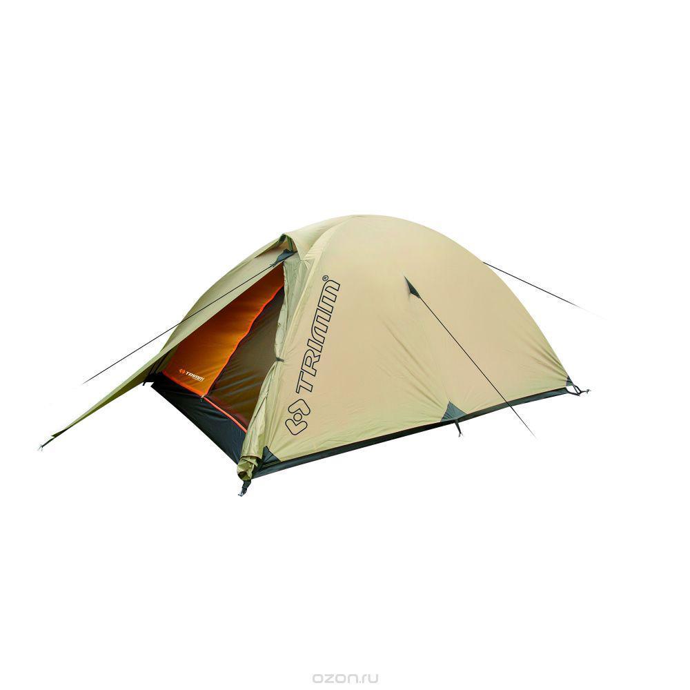 Палатка двухместная Trimm ALFA 2, цвет: песочный360300010Палатка Trimm ALFA – небольшая туристическая палатка серии Trekking с внешним тентом песочного цвета. Эта модель предназначена для использования с весны по осень. Пригодится, прежде всего, туристам, рыбакам и охотникам. Палатка ALFA от известного чешского производителя Trimm относится к серии Trekking, в которой представлены все сезонные палатки. В этой палатке комфортно могут разместиться 2 человека, а при желании можно разместить и третьего, но станет несколько тесновато.