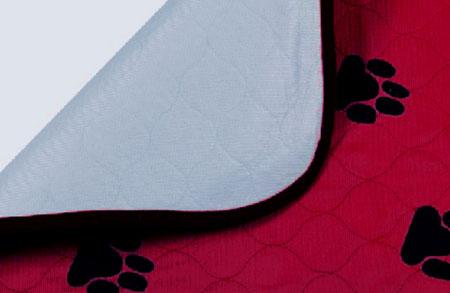 Пеленка впитывающая для животных V.I.Pet, многоразовая, цвет: бордовый, 60 х 40 см0120710Впитывающие пеленки V.I.Pet предназначены для щенков, котят, собак мелких пород. Используются как комфортные впитывающие подстилки в туалетных лотках, в переносках, в автомобиле.Преимущество этих пеленок в том, что они устойчивы к воздействию когтей и зубов. Супервпитывающие многоразовые пеленки состоят из четырех слоев: - первый слой - приятная на ощупь поверхность из микрофибры, которая хорошо пропускает влагу, быстро сохнет;- второй слой отлично впитывает, не давая жидкости растекаться; - полиуретановый слой исключает протекание жидкости; - нескользящий защитный слой. Многоразовые пеленки не загрязняют окружающую среду и экономят ваши деньги! Рекомендуется ручная или машинная стирка с использованием жидкого моющего средства или стирального порошка, но без отбеливателя при температуре 40-60°. Размер пеленки: 60 х 40 см. Материал: абсорбирующий суперполимер.Товар сертифицирован.
