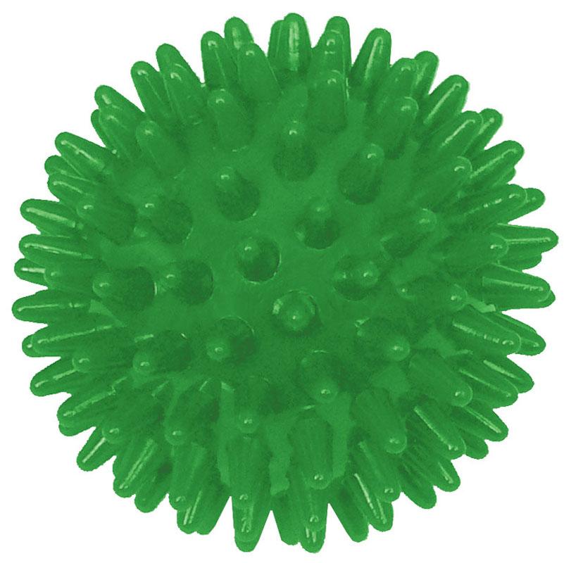 Игрушка для собак V.I.Pet Массажный мяч, цвет: зеленый, диаметр 6 см12171996Игрушка для собак V.I.Pet Массажный мяч, изготовленная из ПВХ, предназначена для массажа и самомассажа рефлексогенных зон. Она имеет мягкие закругленные массажные шипы, эффективно массирующие и не травмирующие кожу. Игрушка не позволит скучать вашему питомцу ни дома, ни на улице.Диаметр: 6 см.