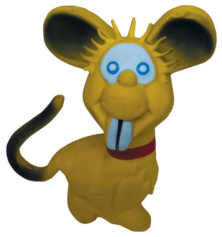 Игрушка для собак V.I.Pet Мышь, цвет: желтый625705Прочная игрушка V.I.Pet Мышь с пищалкой изготовлена из натурального латекса сиспользованием только безопасных, не токсичных красителей. Великолепно подходит для игры и массажа десен вашей собаки. Игрушка не позволит скучать вашему питомцу ни дома, ни на улице.