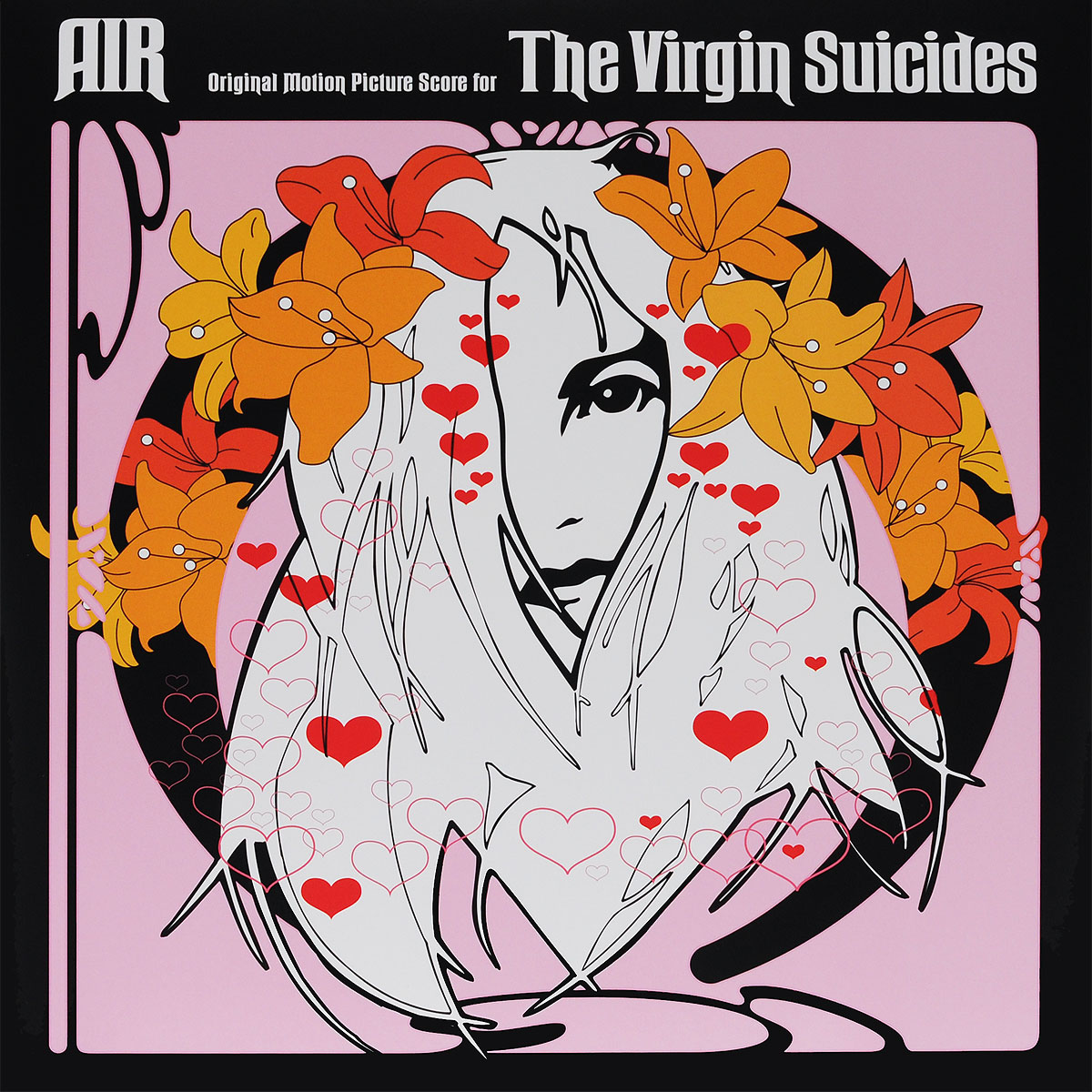 Air Air. The Virgin Suicides. Original Motion Picture Score (LP) air air premiers symptomes lp