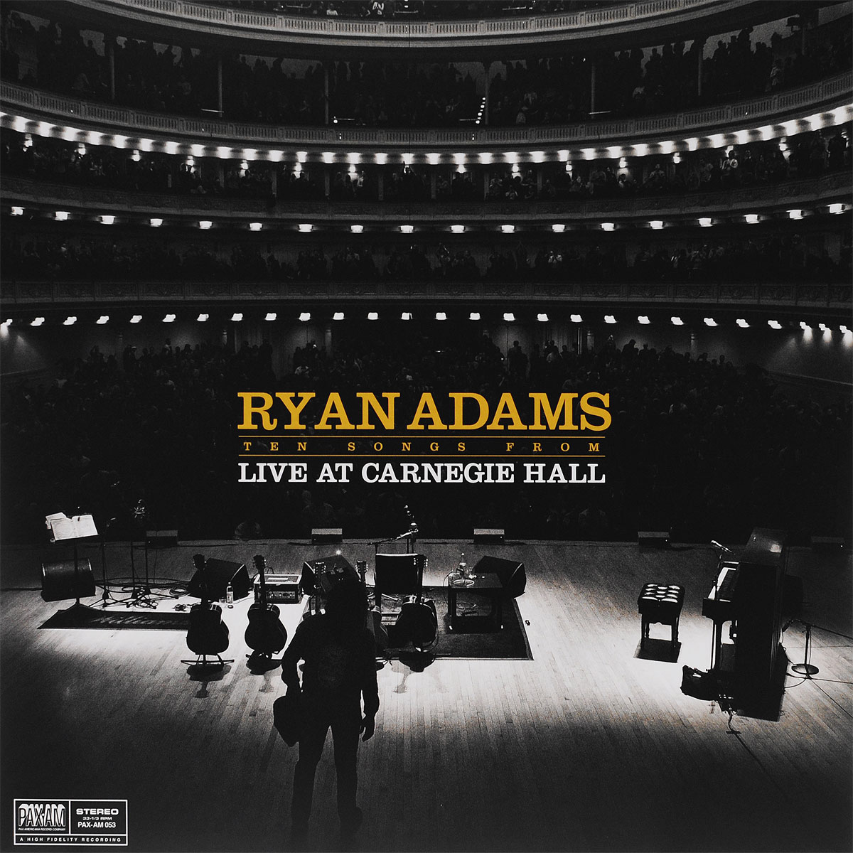 Райан Адамс Ryan Adams. Ten Songs From Live At Carnegie Hall (LP) bryan adams live at slane castle