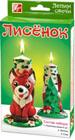 """Лепим свечи - уникальные наборы для изготовления свечей в домашних условиях. Восковые пластины не содержат вредных добавок и безопасны для детского творчества. Вам не придется подвергать воск дополнительной термической обработке. Это простой и доступный способ сделать красивую свечу с ребенком. Мягкий и пластичный цветной воск хорошо формуется. А яркий цвет восковых пластин позволяет проявить максимально фантазию и сделать оригинальные фигурки-свечи, которые украсят ваш дом. Друзья и знакомые будут рады подарку сделанному собственноручно. Воск для лепки - это еще и материал, в процессе занятий с которым у детей формируются творческие способности, развиваются образное мышление и мелкая моторика рук. Набор лепим свечи """"Лисёнок"""" Состав набора: восковые пластины 5 цв (2 белые, 2 красные, 1 зелёная)., фитиль. Подробная инструкция по изготовлению свечи расположена на коробке."""