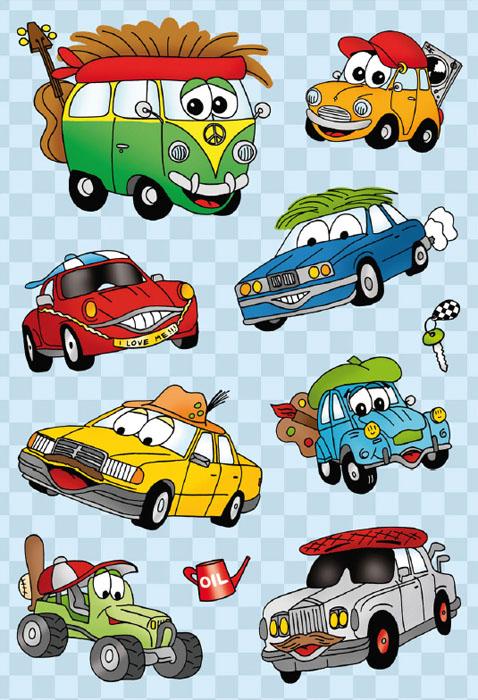 Наклейки Magic Автомобиль-турист6376Наклейки Magic Автомобиль-туристидеально подходят для творчества,декора аксессуаров и многого другого.Объемные наклейкис яркими изображениями выполнены из силикона. Глазки автомобилей с движущимися зрачками выполнены из пластика. Зрачок свободно перемещается внутри глазика-капсулы, создавая эффект живого, подвижного существа.Набор состоит из восьми наклеек с изображением автомобилей, одной наклейки с изображением лейки и одной наклейки с изображением ключа. Наклейки размещены на листе, в одной упаковке один лист.