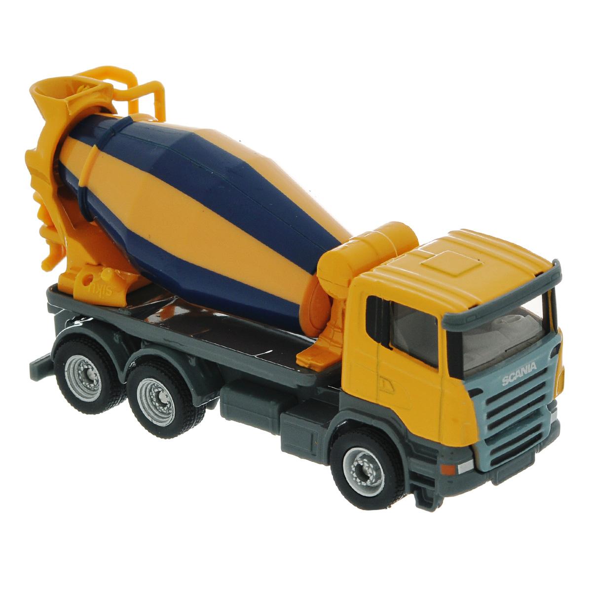 Siku Бетономешалка Scania модель машины chun base 1 43 scania