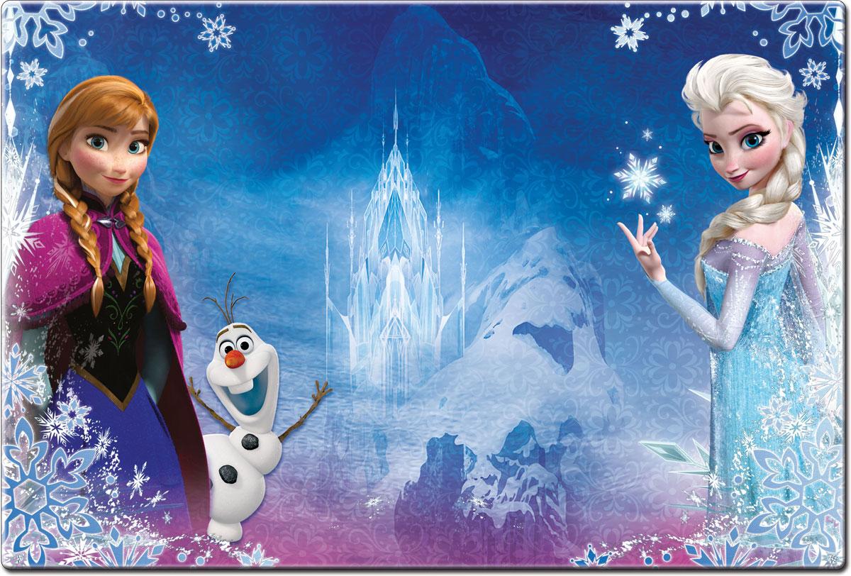 Настольная подкладка для лепки и рисования Frozen, 43 см х 29 см54 009312Настольная подкладка Frozen не только обеспечит комфортную работу во время лепки и рисования, но и предохранит поверхность рабочего стола от загрязнений и различных повреждений.Она выполнена из плотного пластика и оформлена изображением героев любимого мультфильма Холодное сердце. Яркий дизайн подкладки непременно понравится вашему ребенку.