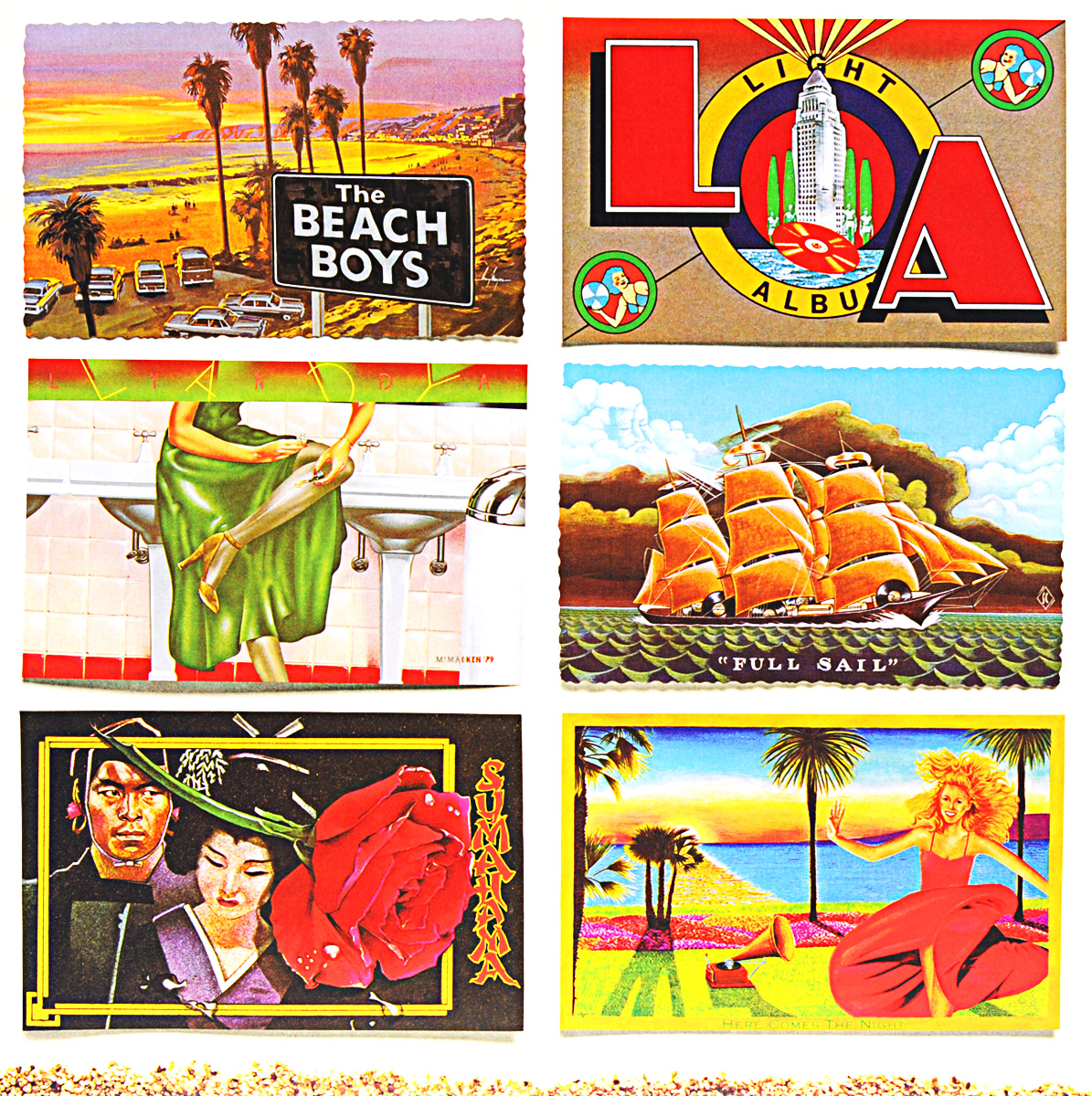 The Beach Boys The Beach Boys. L. A. Light Album (LP)