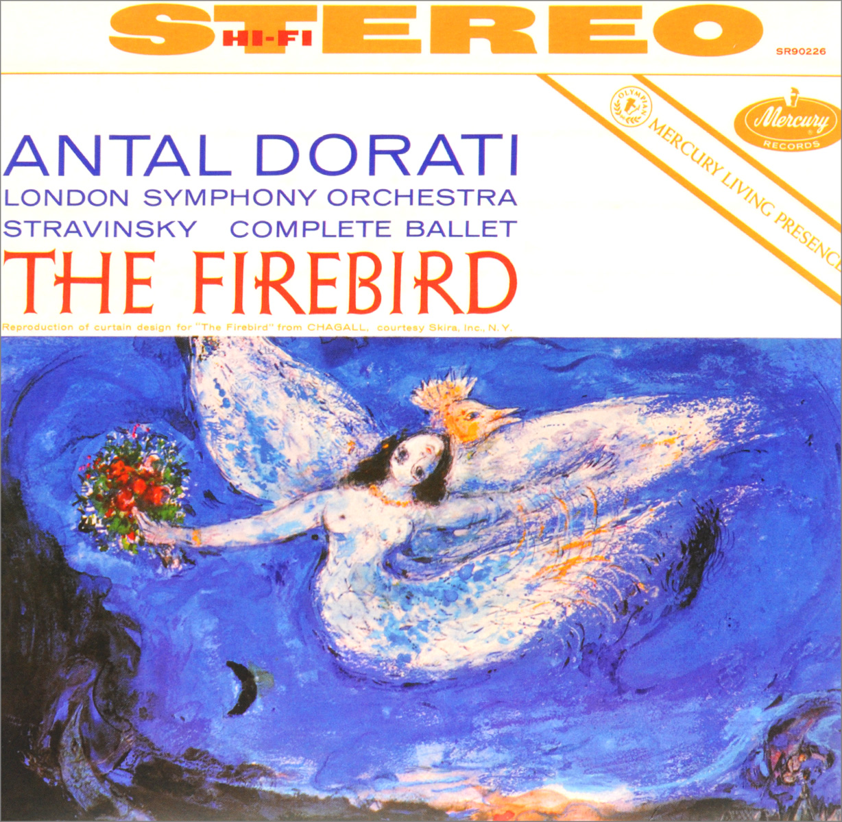 The London Symphony Orchestra Antal Dorati. London Symphony Orchestra. Stravinsky. The Firebird (LP)