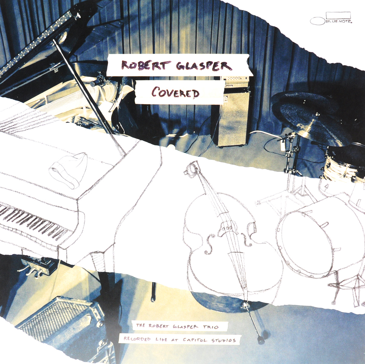 Роберт Глеспер Robert Glasper. Covered. Recorded Live At Capitol Studios (2 LP) skywork studios inc