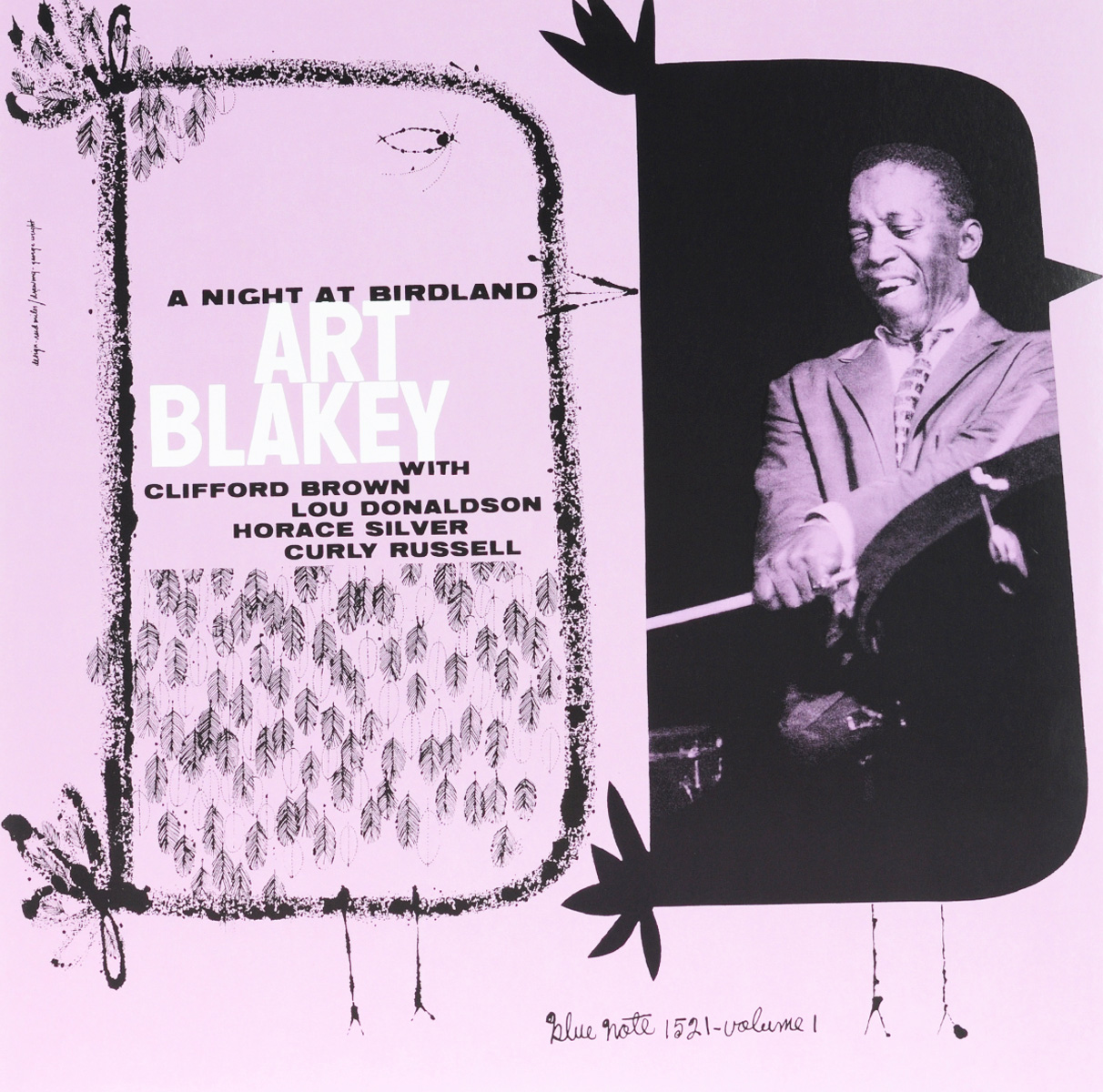 Art Blakey Quintet Art Blakey Quintet. Night At Birdland. Volume 1 (LP) art blakey quintet art blakey quintet a night at birdland volume 2 lp