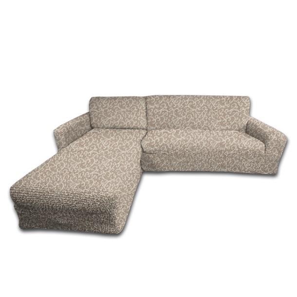 Еврочехол на угловой диван с выступом слева Жаккард Волны1717/CHAR003Чехол «Волны» подойдет для тех, кто хочет защитить свою мебель от постоянных воздействий. Этот чехол для мебели благодаря прочности ткани станет идеальным решением для владельцев домашних животных. Кроме того, натуральный состав ткани гипоаллергенен, а потому безопасен для малышей или людей пожилого возраста.Общая цветовая гамма характеризуется теплыми, мягкими, спокойными, нейтральными тонами. На бежевом фоне еврочехла «Волны» расположен элегантный жаккардовый рисунок волн нежного кремового цвета. Выпуклый рисунок с эффектом 3D придает изысканность этому еврочехлу. «Волны» - одна из самых популярных моделей. Расцветка чехла будет гармонировать с интерьерами в различных цветовых решениях, будь-то классика или модерн, барокко или ар-деко, эклектика или этнические мотивы. Жаккардовые модели по достоинству оценят любители плотных и практичных гобеленовых тканей. Состав: 80% хлопок, 15% полиэстер, 5% эластан. Растяжимость чехла по спинке (без учета подлокотников): от 300 до 450 сантиметров. Оттенок: Волны (Кремовый цвет с объемным жаккардовым рисунком). Стирка: Машинная, рекомендуемая температура - 40 градусов, максимальная - 50. Упаковка: Виниловая сумка с ручкой на молнии.