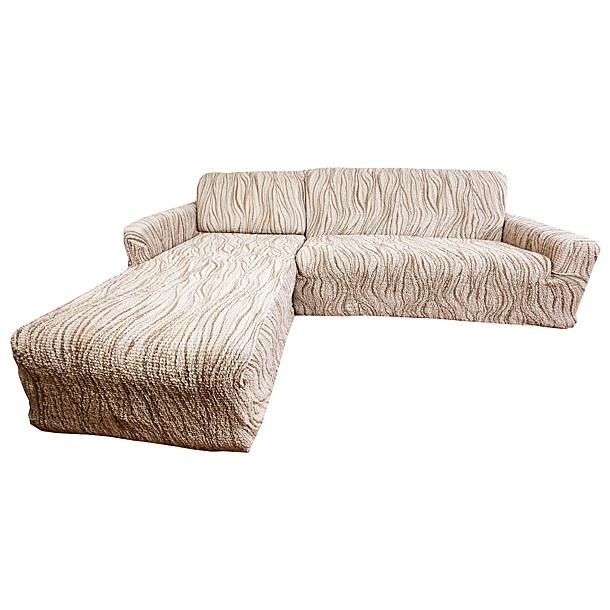 Чехол на угловой диван Еврочехол Виста. Элегант, 300-450 см3/22-9Чехол на угловой диван Еврочехол Виста. Элегант выполнен из 50% хлопка, 50% полиэстера. Он идеально подойдет для тех, кто хочет защитить свою мебель от постоянных воздействий. Этот чехол, благодаря прочности ткани, станет отличным решением для владельцев домашних животных. Кроме того, состав ткани гипоаллергенен, а потому безопасен для малышей или людей пожилого возраста. Такой чехол отлично впишется в любой интерьер. Еврочехол послужит не только практичной защитой для вашей мебели, но и приятно удивит вас мягкостью ткани и итальянским качеством производства. Растяжимость чехла по спинке (без учета подлокотников): 300-450 см.