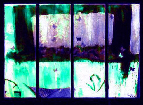 Модульная картина Композиция №1, 4 части, смешанная техника, холст, подрамник, жикле, акрил, общий размер - 100х75 см, автор Светлана Сергеева1587Самое стильное и популярное в наши дни - модульная картина. Работа Композиция №1 состоит из четырех частей. Она выполнена в фиолетово - бирюзовых тонах, яркая, сочная, впишется в любой современный интерьер. В отличии от большинства модульных картин, которые сейчас предлагают множество мастерских, эта работа не просто напечатана на холсте, над ней поработал художник акриловыми красками, что придает картине объем и индивидуальность. холст, акрил, деревянный подрамник Внимание!!! Так как это ручная работа, рисунок может слегка отличаться от представленного на фото образца.