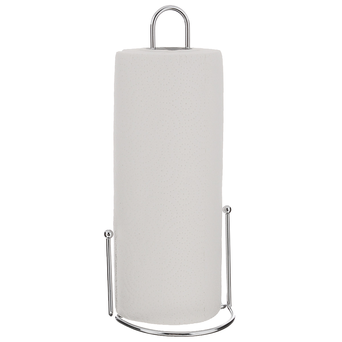 Держатель для бумажных полотенец ZellerPDS-03Держатель для бумажных полотенец Zeller изготовлен из металла с хромированной поверхностью. Круглое основание обеспечивает устойчивость подставки. Вы можете установить ее в любом удобном месте. Держатель подходит для всех видов кухонных полотенец.Такой держатель для бумажных полотенец станет полезным аксессуаром в домашнем быту и идеально впишется в интерьер современной кухни.В комплекте с держателем - рулон бумажных полотенец для рук.Диаметр основания держателя: 12 см.Высота держателя: 31 см.