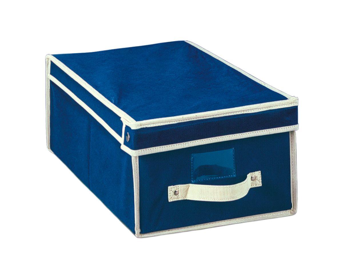 Чехол-коробка 30х45х20 см. COVLSCT001ЯФ0136Складывающийся чехол из дышащего нетканого материала (полипропилен), безопасного в использовании, для хранения одежды, одеял, др. вещей. Представляет собой закрывающуюся крышкой коробку жесткой конструкции благодаря наличию внутри плотных листов картона. Пропускает воздух, но при этом надежно защищает от пыли, моли и солнечных лучей. Имеет удобную ручку для переноски.