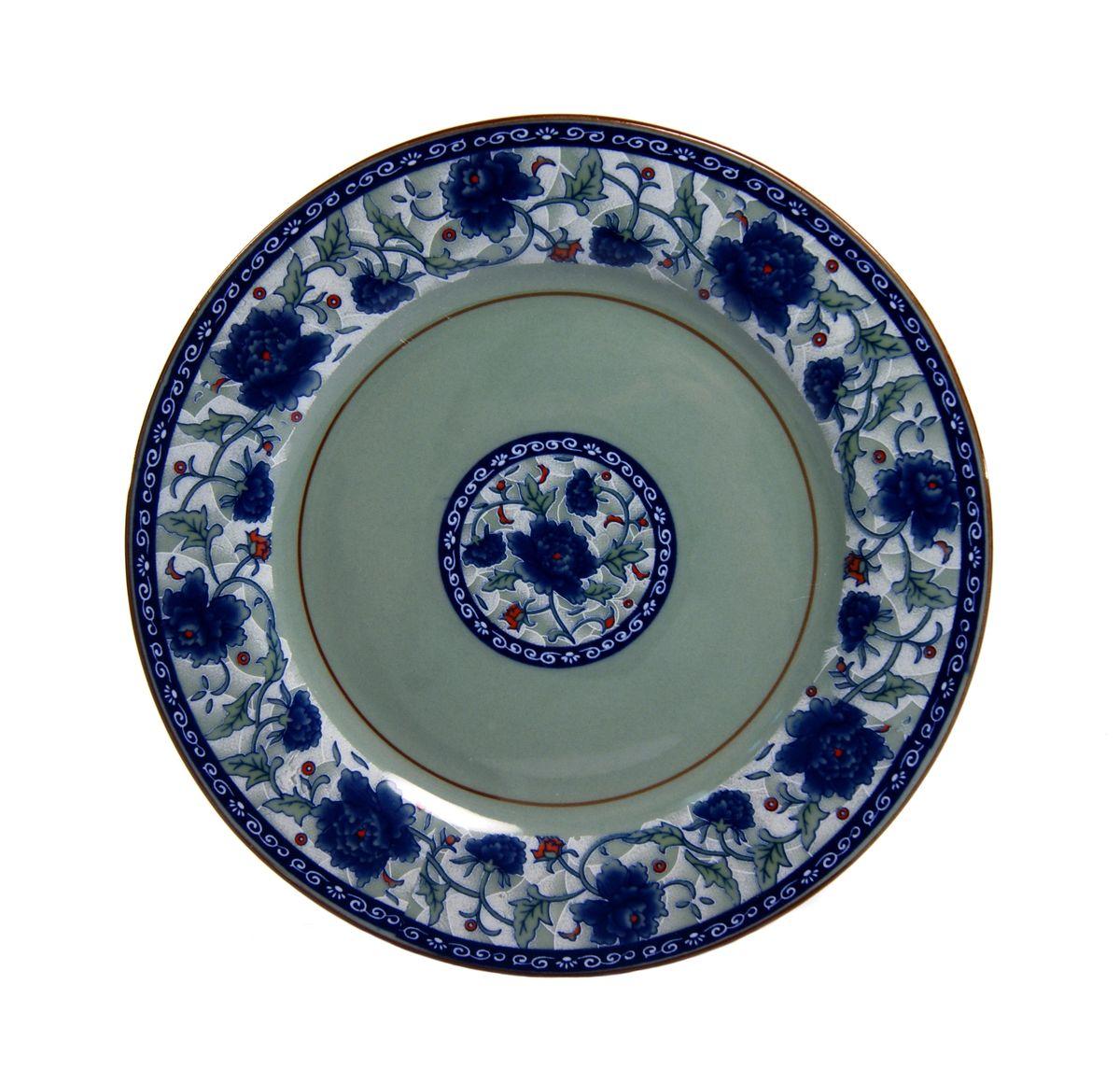 Тарелка Nanshan Porcelain Харбин, диаметр 18 см115510Тарелка Nanshan Porcelain Харбин изготовлена из высококачественной керамики. Предназначена для красивой подачи различных блюд. Изделие украшено ярким рисунком. Такая тарелка украсит сервировку стола и подчеркнет прекрасный вкус хозяйки.Можно мыть в посудомоечной машине и использовать в микроволновой печи. Диаметр: 18 см.Высота: 2 см.