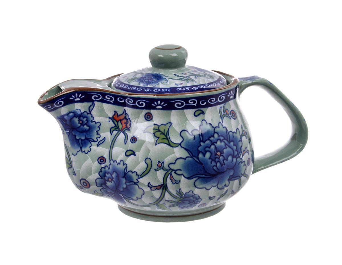 Чайник заварочный Nanshan Porcelain Харбин, 500 мл115510Чайник заварочный Nanshan Porcelain Харбин изготовлен из высококачественной керамики и декорирован ярким изображением цветов. Такой дизайн, несомненно, придется вам по вкусу. Чайник заварочный Nanshan Porcelain Харбин украсит кухонный стол, а также станет замечательным подарком для ваших друзей и близких. Можно мыть в посудомоечной машине и использовать в микроволновой печи. Диаметр чайника (по верхнему краю): 6 см. Высота чайника (без учета крышки): 9 см.