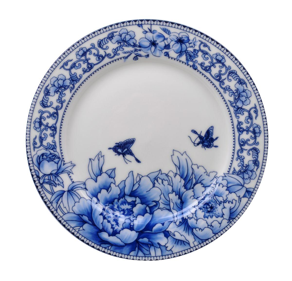 Тарелка десертная Nanshan Porcelain Наньшань, диаметр 19 см115510Тарелка десертная Nanshan Porcelain Наньшань изготовлена из высококачественной керамики. Предназначена для красивой подачи различных блюд. Изделие украшено ярким рисунком. Такая тарелка украсит сервировку стола и подчеркнет прекрасный вкус хозяйки.Можно мыть в посудомоечной машине и использовать в микроволновой печи. Диаметр: 19 см.Высота: 1,5 см.