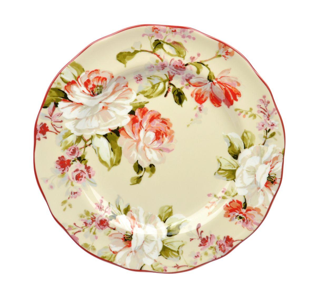 Тарелка обеденная Utana Эмилия, диаметр 27,5 см54 009312Тарелка обеденная Utana Эмилия изготовлена из высококачественной керамики. Предназначена для красивой подачи различных блюд. Изделие декорировано ярким изображением цветов. Такая тарелка украсит сервировку стола и подчеркнет прекрасный вкус хозяйки.Можно мыть в посудомоечной машине и использовать в СВЧ. Диаметр: 27,5 см.Высота: 3 см.