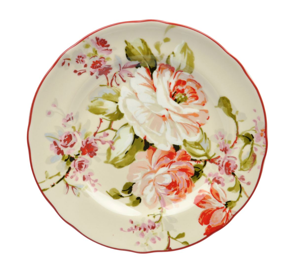 Тарелка десертная Utana Эмилия, диаметр 22 см115510Тарелка десертная Utana Эмилия изготовлена из высококачественной керамики. Предназначена для красивой подачи различных блюд. Изделие декорировано ярким рисунком. Такая тарелка украсит сервировку стола и подчеркнет прекрасный вкус хозяйки.Можно мыть в посудомоечной машине и использовать в СВЧ. Диаметр: 22 см.Высота: 3 см.