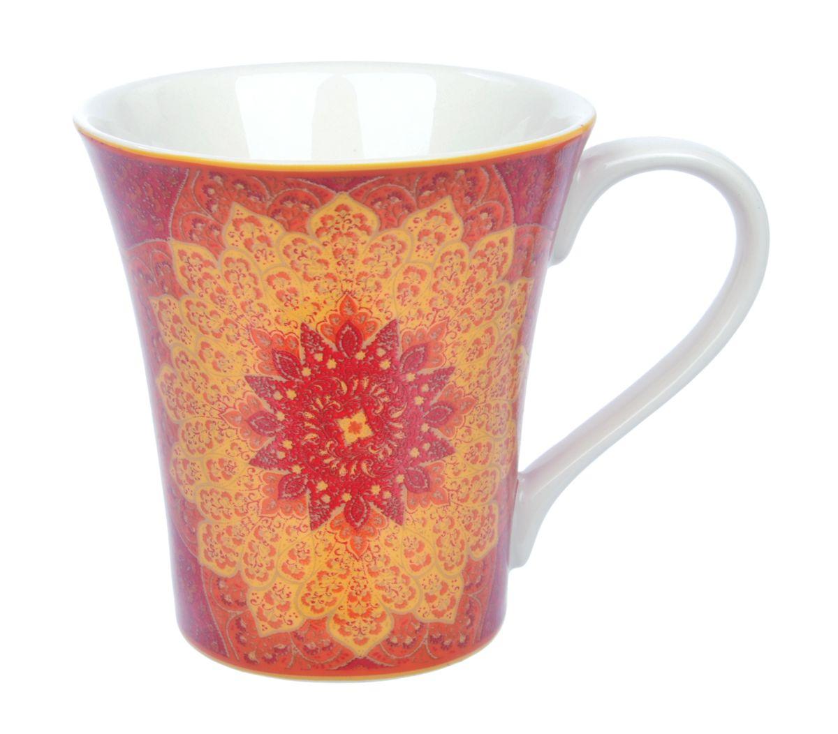 Кружка Kashan Red, 330 мл115510Кружка Kashan Red изготовлена из высококачественной керамики. Внешние стенки изделия оформлены красочным цветочным рисунком. Такая кружка прекрасно подойдет для горячих и холодных напитков. Она дополнит коллекцию вашей кухонной посуды и будет служить долгие годы. Можно использовать в посудомоечной машине и СВЧ. Объем кружки: 330 мл. Диаметр кружки (по верхнему краю): 10 см. Высота стенки кружки: 10,5 см.