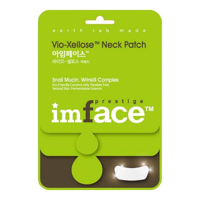 IMFACE Маска пластырь для шеи Vio-Xellose Neck Patch10 млFS-00897Антивозрастной уход, разглаживание морщин, питание, придание упругости и эластичности коже.