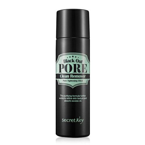 Secret Key Средство для очищения пор Black out pore clean remover 100 мл.FS-00897Средство для удаления черных точек содержит древесный уголь, который отшелушивает омертвевшие клетки кожи, абсорбирует кожный жир, глубоко очищает поры кожи от загрязнений, не пересушивая её.