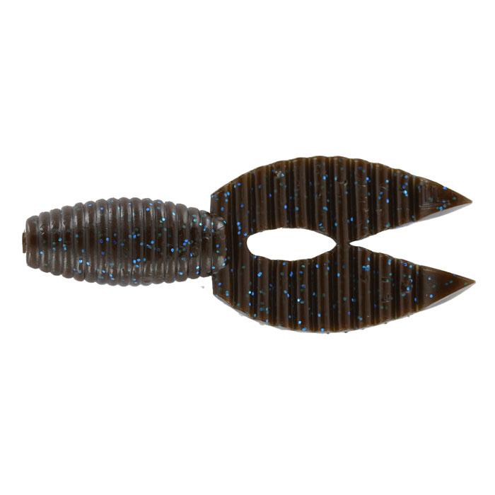 Рачок Tsuribito-Jackson Porky Chunk, цвет: коричневый, синий, 8,6 см, 6 шт51312Tsuribito-Jackson Porky Chunk сразу вызвала интерес у опытных рыболовов. Ближе всего, эта приманка, пожалуй, к рачкам. Широкий хвост-плавник состоящий из двух ребристых частей, соединенных между собой, чем-то напоминает клешни рака. Однако, если немного пофантазировать, можно разглядеть в Porky Chunk лягушку.Эта приманка, почти плоская. Сверху она одного цвета, а снизу другого, более яркого, даже кислотного. Силикон, из которого изготовлена приманка очень плотный и жесткий, значит, будет хорошо держаться на крючке, и не сильно страдать при поклевке.Во время проводки хвостик приманки колеблется в вертикальной плоскости. На рывковой и волнообразной проводках, колебания становятся более широкими. Силикон, из которого изготовлен Porky Chunk - плавающий. На паузе примака не опускается на дно, что делает её хорошо заметной для рыбы. Зарекомендовавшая себя проводка - плавная, без резких рывков или же ступеньками.