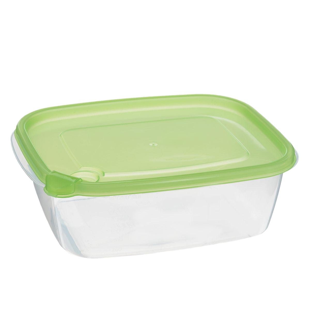 Контейнер для хранения продуктов Бытпласт Фрэш, 1,25 л. С11520VT-1520(SR)Контейнер Бытпласт Фрэш предназначен для хранения пищевых продуктов и не только. Он выполнен из высококачественного полипропилена и не содержит Бисфенол А. Крышка с клапаном легко и плотно закрывается. Контейнер устойчив к воздействию масел и жиров, легко моется. Подходит для использования в микроволновых печах, выдерживает хранение в морозильной камере при температуре -24 градуса.Пищевые контейнеры необыкновенно удобны: в них можно брать еду на работу, за город, ребенку в школу. Именно поэтому они обретают все большую популярность.
