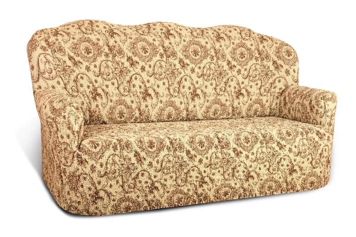 Чехол на 3-х местный диван Еврочехол Виста, 160-240 см. 6/39-33/23-9Чехол на 3-х местный диван Еврочехол Виста выполнен из 50% хлопка, 50% полиэстера. Он идеально подойдет для тех, кто хочет защитить свою мебель от постоянных воздействий. Этот чехол, благодаря прочности ткани, станет идеальным решением для владельцев домашних животных. Кроме того, состав ткани гипоаллергенен, а потому безопасен для малышей или людей пожилого возраста. Такой чехол отлично впишется в любой интерьер. Еврочехол послужит не только практичной защитой для вашей мебели, но и приятно удивит вас мягкостью ткани и итальянским качеством производства. Растяжимость чехла по спинке (без учета подлокотников): 160-240 см.