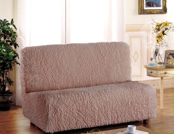 Чехол на 2-х местный диван Еврочехол Модерн, без подлокотников, цвет: какао, 100-150 смTHN132NЧехол на 2-х местный диван Еврочехол Модерн выполнен из 60% хлопка, 35% полиэстера, 5% эластана. Он идеально подойдет для тех, кто хочет защитить свою мебель от постоянных воздействий. Этот чехол, благодаря прочности ткани, станет идеальным решением для владельцев домашних животных. Кроме того, состав ткани гипоаллергенен, а потому безопасен для малышей или людей пожилого возраста. Такой чехол отлично впишется в любой интерьер. Еврочехол послужит не только практичной защитой для вашей мебели, но и приятно удивит вас мягкостью ткани и итальянским качеством производства. Растяжимость чехла по спинке: 100-150 см.