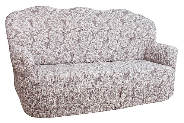 Чехол на 2-х местный диван Еврочехол Виста, цвет: молочный, светло-коричневый, 120-160 смTHN132NЧехол на 2-х местный диван Еврочехол Виста выполнен из 50% хлопка, 50% полиэстера. Он идеально подойдет для тех, кто хочет защитить свою мебель от постоянных воздействий. Этот чехол, благодаря прочности ткани, станет идеальным решением для владельцев домашних животных. Кроме того, состав ткани гипоаллергенен, а потому безопасен для малышей или людей пожилого возраста. Такой чехол отлично впишется в любой интерьер. Еврочехол послужит не только практичной защитой для вашей мебели, но и приятно удивит вас мягкостью ткани и итальянским качеством производства.Растяжимость чехла по спинке: 120-160 см.