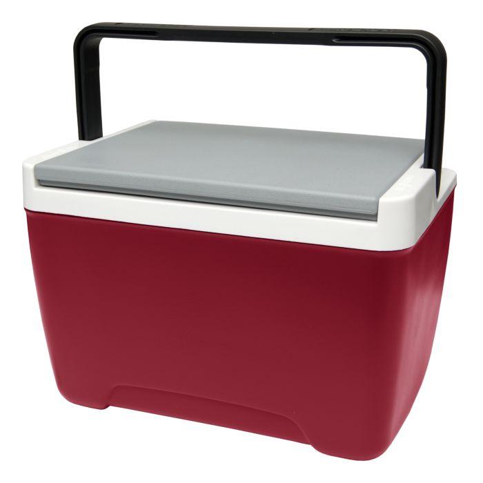 Изотермический контейнер Igloo Island Breeze, цвет: красный, 8 лAS 25Легкий и прочный изотермический контейнер Igloo Island Breeze, изготовленный из высококачественного пластика, предназначен для транспортировки и хранения продуктов и напитков. Корпус гладкий, эргономичного дизайна, ударопрочный. Для поддержания температуры использовать с аккумуляторами холода.Поддержание внутреннего микроклимата обеспечивается за счет термоизоляционной прокладки из пены Ultra Therm, способной удерживать температуру внутри корпуса до 24 часов. Контейнер имеет усиленную ручку с фиксацией и широко открывающуюся крышку для легкого доступа к продуктам. Крышка плотно и герметично закрывается. Такой контейнер можно взять с собой куда угодно: на отдых, пикник, на дачу, катание на лодке и т.д. Он имеет компактные размеры и не займет много места.