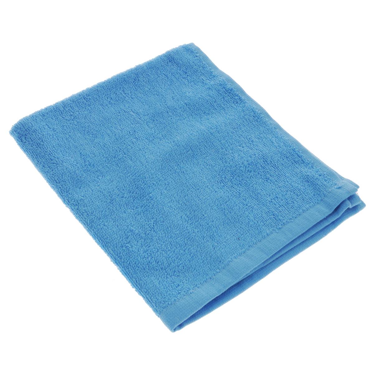 Полотенце махровое Osborn Textile, цвет: голубой, 40 х 40 см1004900000360В состав полотенца Osborn Textile входит только натуральное волокно - хлопок. Такое полотенце будет незаменимо в вашем быту. Оно создаст прекрасное настроение не только в ванной комнате, но и в кухне. Изделие прекрасно впитывает влагу и быстро сохнет. При соблюдении рекомендаций по уходу не линяет и не теряет форму даже после многократных стирок. Плотность: 400 г/м2.