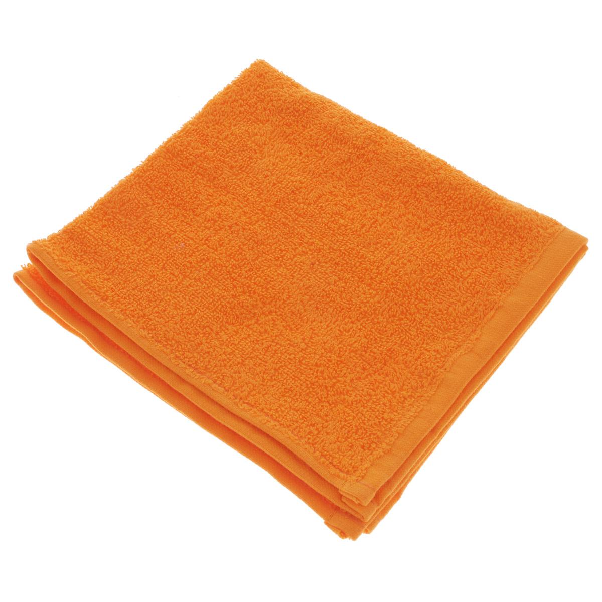 Полотенце махровое Osborn Textile, цвет: оранжевый, 40 х 40 см68/5/4В состав полотенца Osborn Textile входит только натуральное волокно - хлопок. Такое полотенце будет незаменимо в вашем быту. Оно создаст прекрасное настроение не только в ванной комнате, но и в кухне. Изделие прекрасно впитывает влагу и быстро сохнет. При соблюдении рекомендаций по уходу не линяет и не теряет форму даже после многократных стирок. Плотность: 400 г/м2.