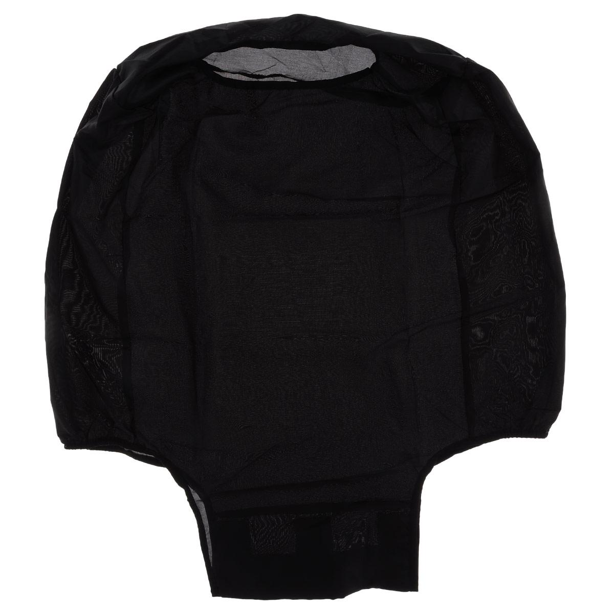 Чехол защитный для чемодана Eva, цвет: черный, 62 см х 42 см х 28 см1004900000360Защитный чехол для чемодана Eva выполнен из водоотталкивающего материала - полиэстера. Чехол легко надевается и фиксируется при помощи липучек. Регулируется по высоте и степени наполненности. Чехол защитит ваш багаж от загрязнений, царапин и несанкционированного доступа, а также значительно продлит срок службы вашего чемодана.Размер чехла: 62 см х 42 см х 28 см.